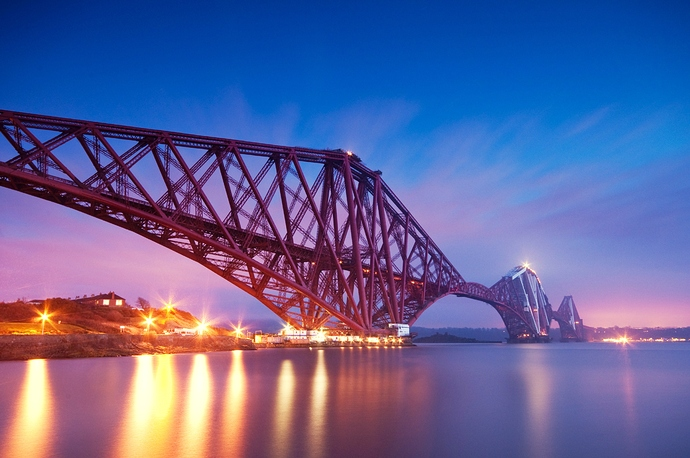 Forth_bridge_evening_long_exposure