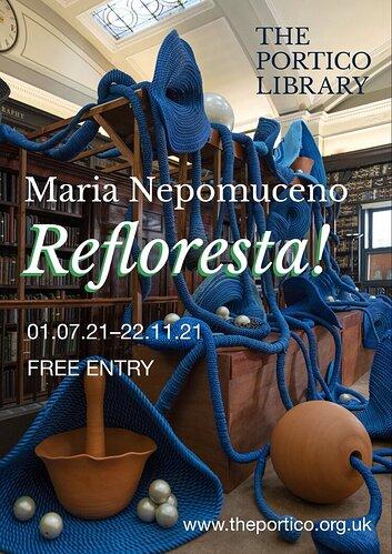 Maria+Nepomuceno+Portico+Library+poster+8