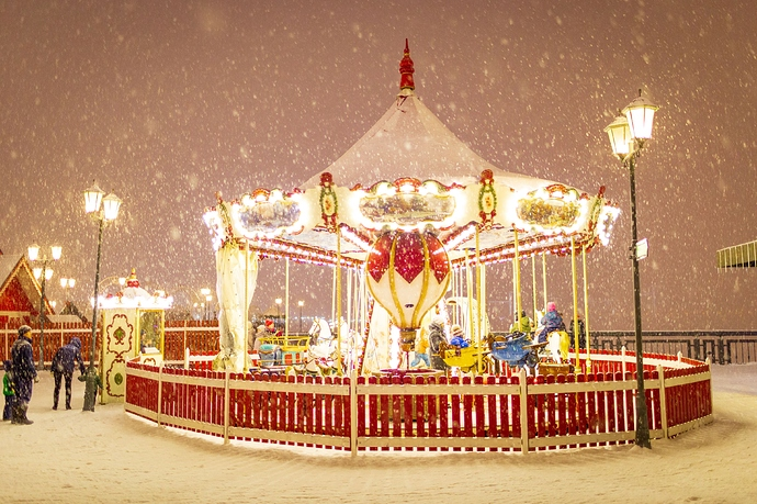 Show Us The Most Incredible Carousels