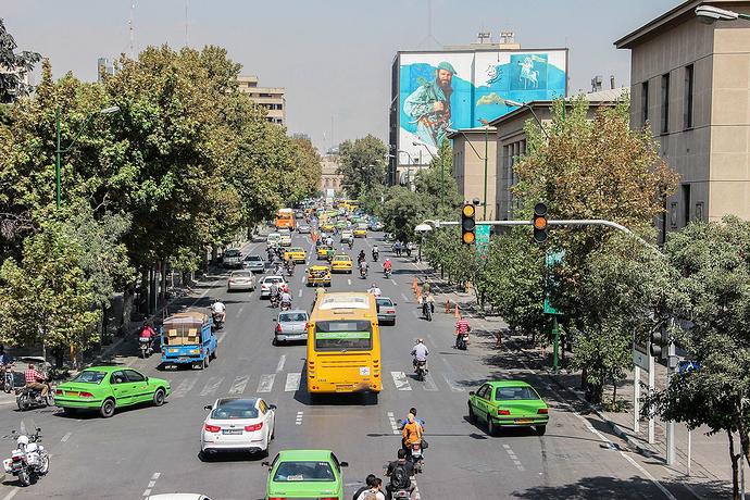 Iran has a good public transportation