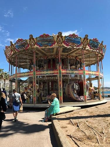 Carousel-Saint-Raphael-France
