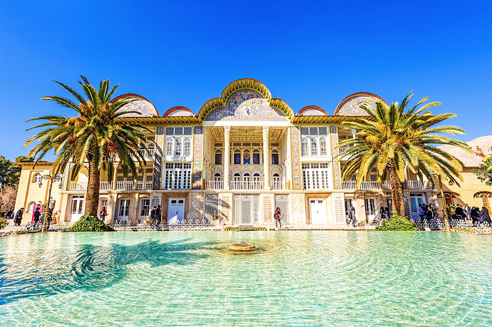 To visit the Romantic Persian Gardens