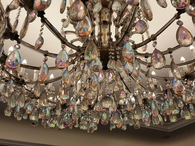 chandelier-BW