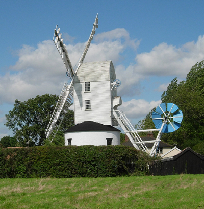 Saxtead_Green_Windmill